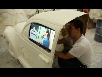 Carnaval.vc - Interactive Float Alegory making of